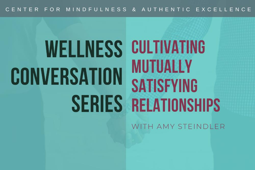 Wellness Conversation Series