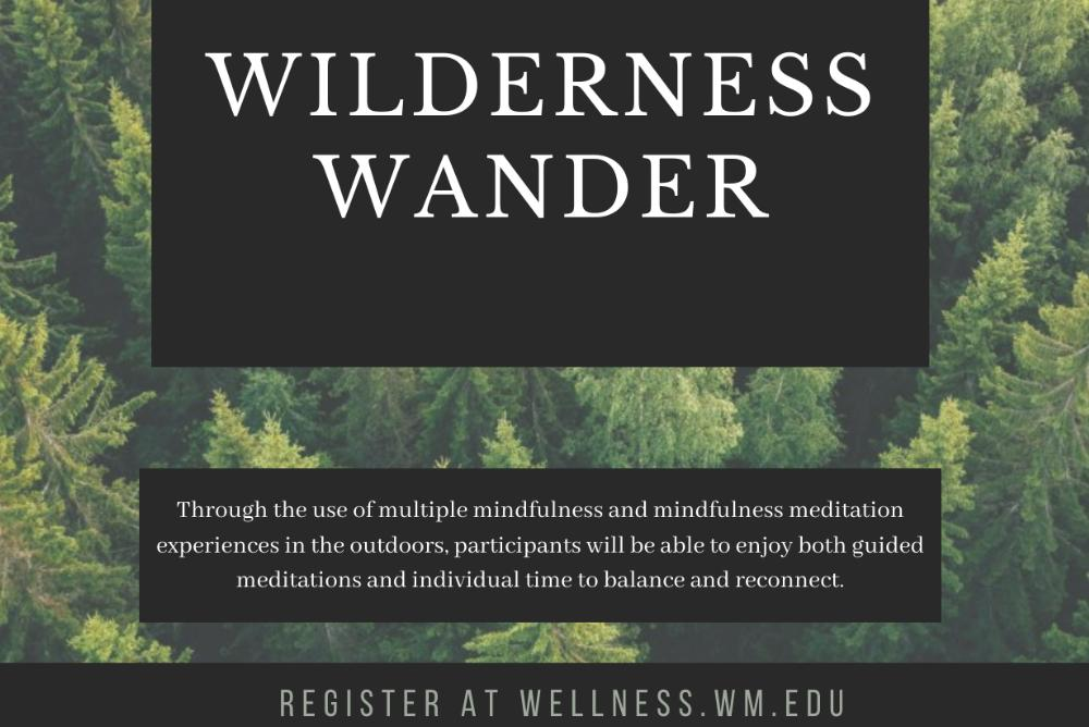 Wilderness Wander