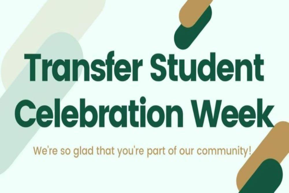 Transfer Student Celebration Week Logo