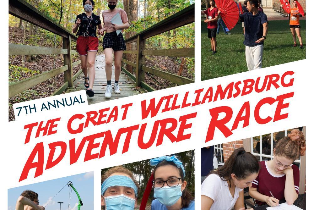 Great Adventure Race Advertisement