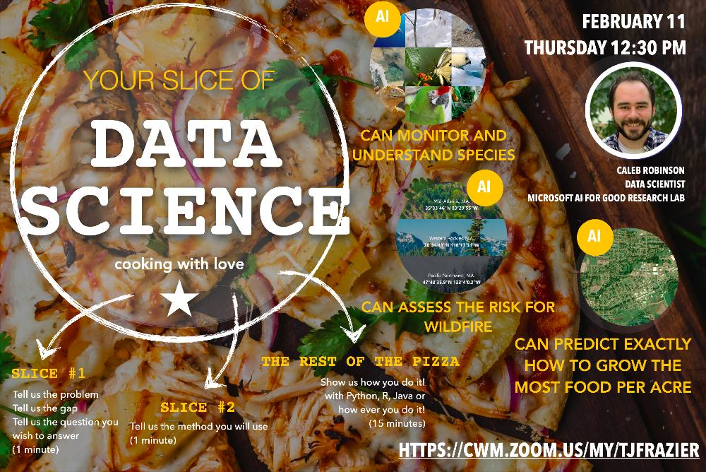 Slice of Data Science - Guest, Caleb Robinson