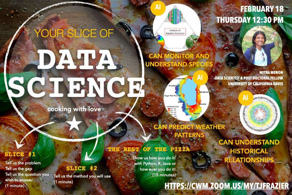 Slice of Data Science - Guest, Mitra Menon