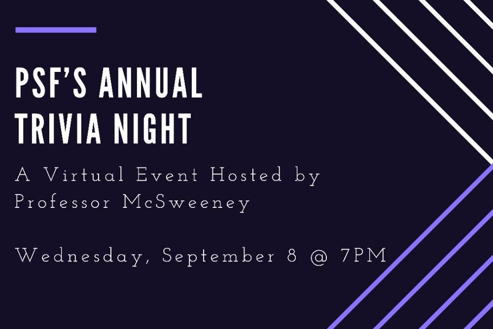 PSF's Annual Trivia Night