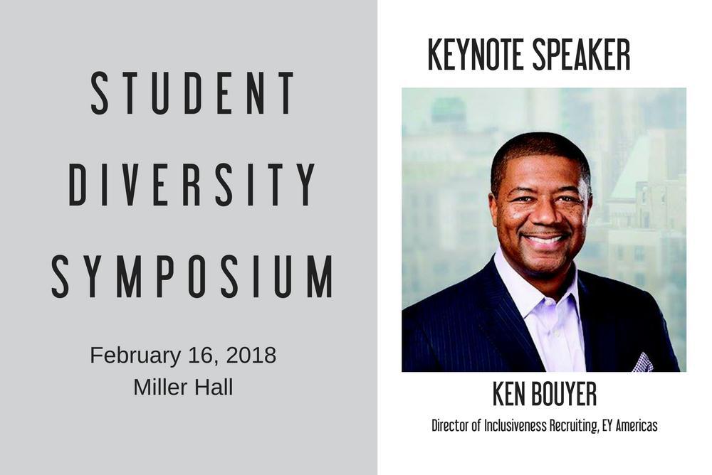 Student Diversity Symposium - Keynote Ken Bouyer