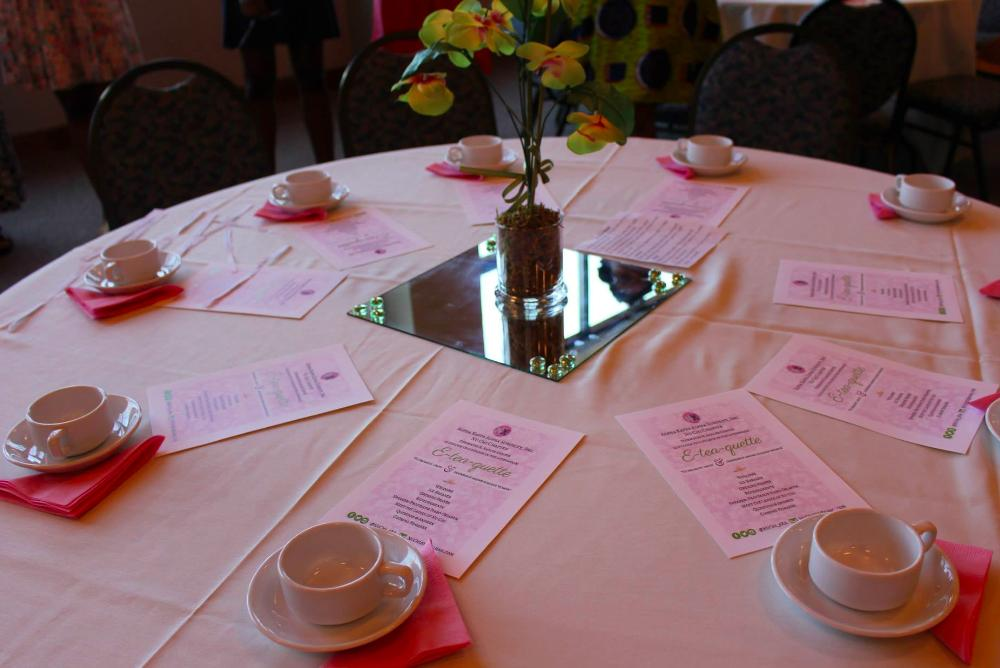 Too Flyy Nu Chi Chapter of Alpha Kappa Alpha Sorority, Inc. - Welcome Tea 2015