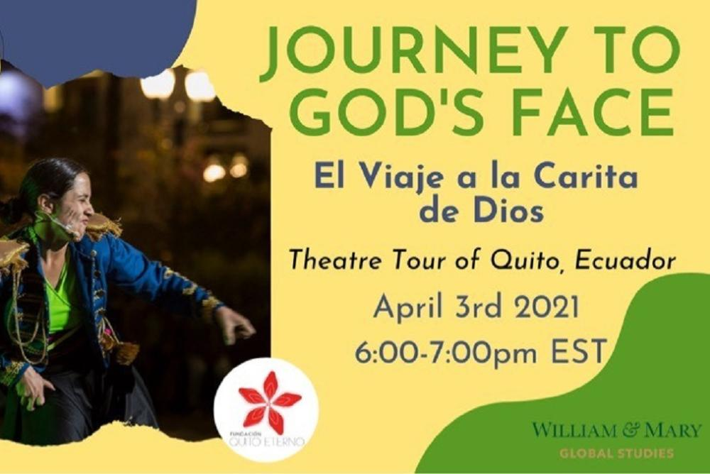 Virtual bilingual theater tour experience of Quito, Ecuador.