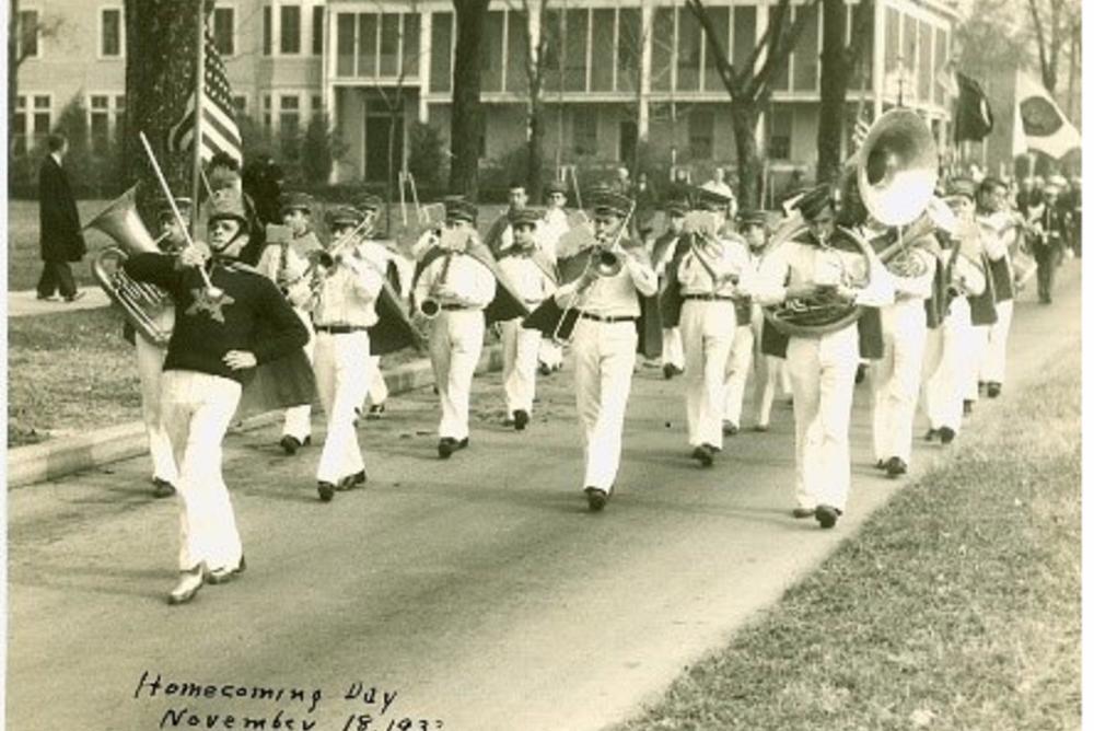 Homecoming Day (Nov. 18, 1933)