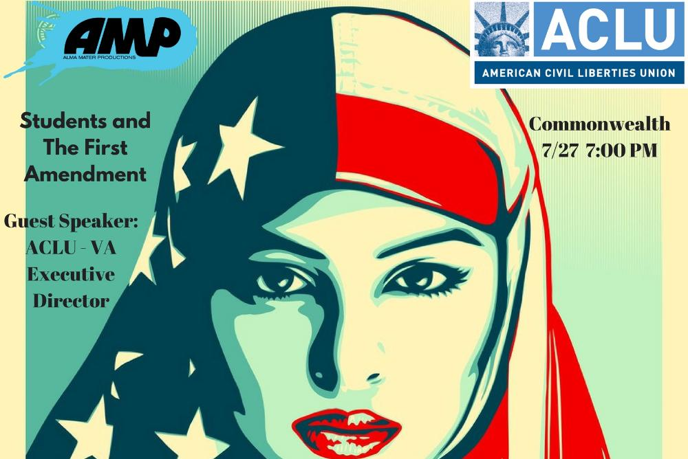 ACLU Event Poster