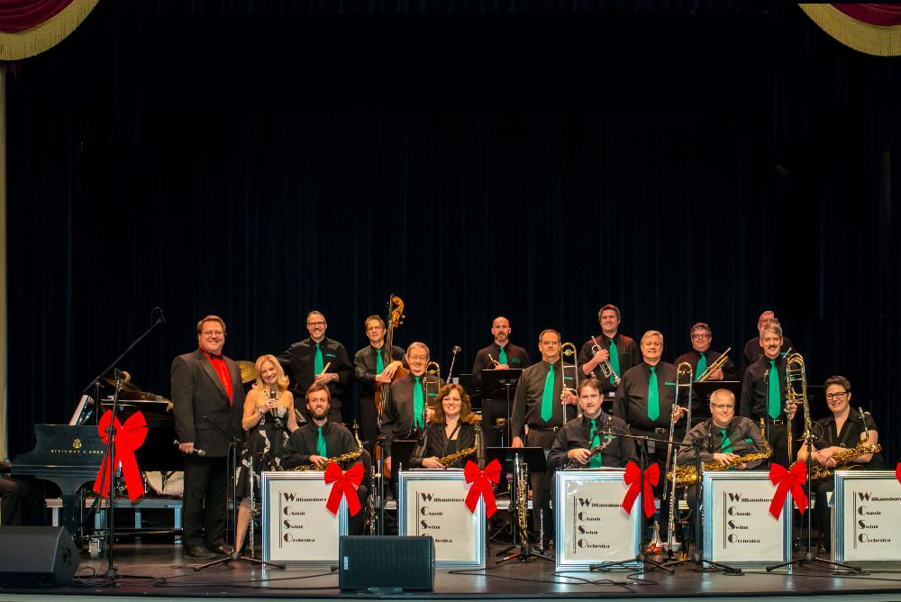 access features - Big Band Christmas