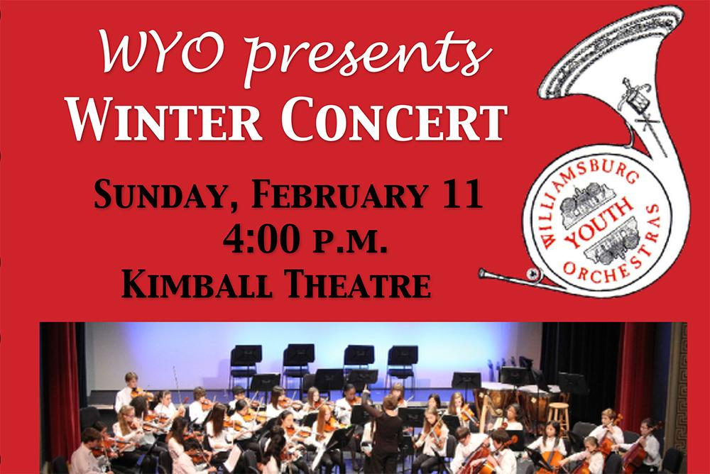 PAST EVENT] Williamsburg Youth Orchestra Winter Concert