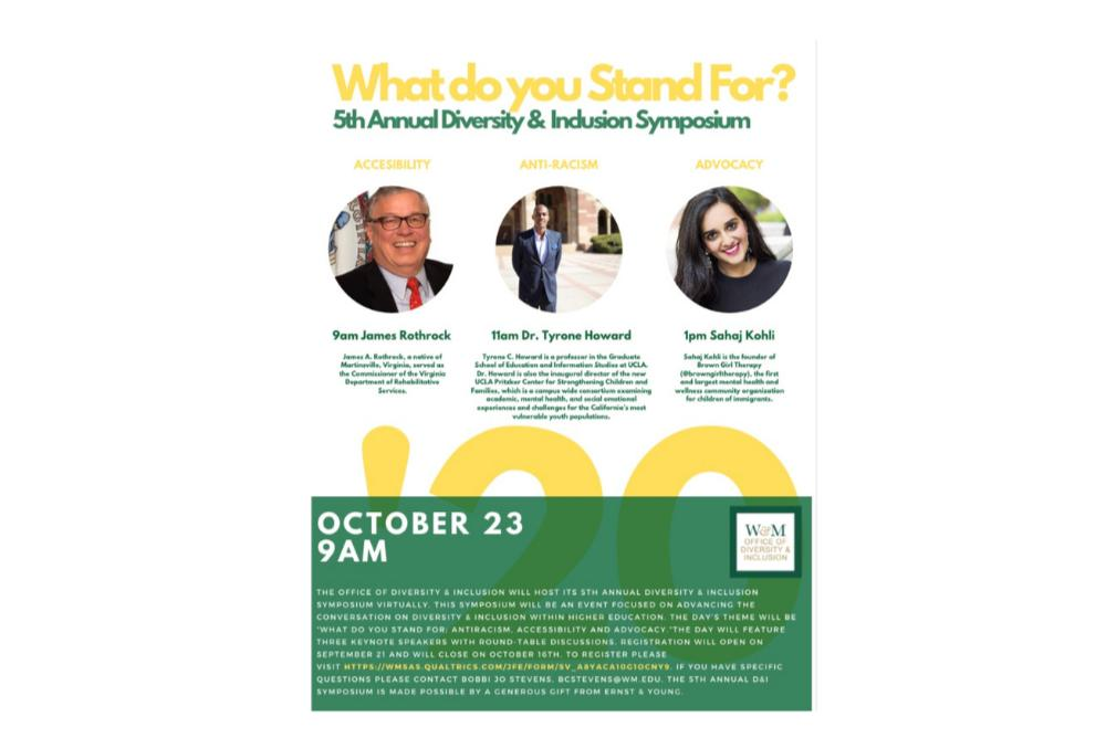 What Do You Stand For? - 5th Annual Diversity & Inclusion Symposium