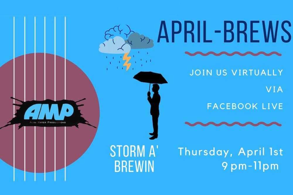 Poster for April-Brews