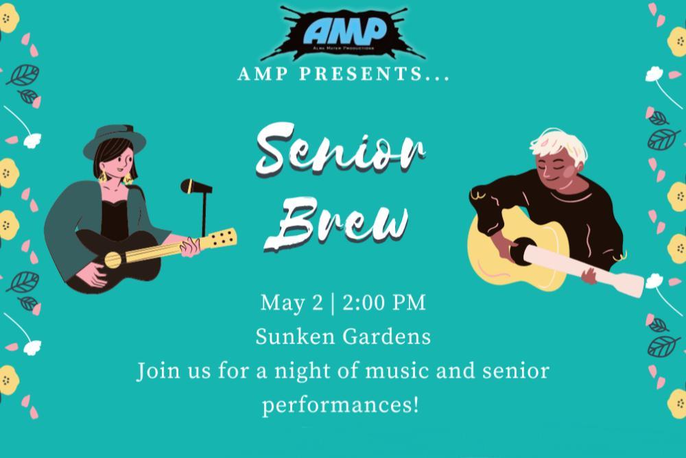 Poster for SeniorBrew