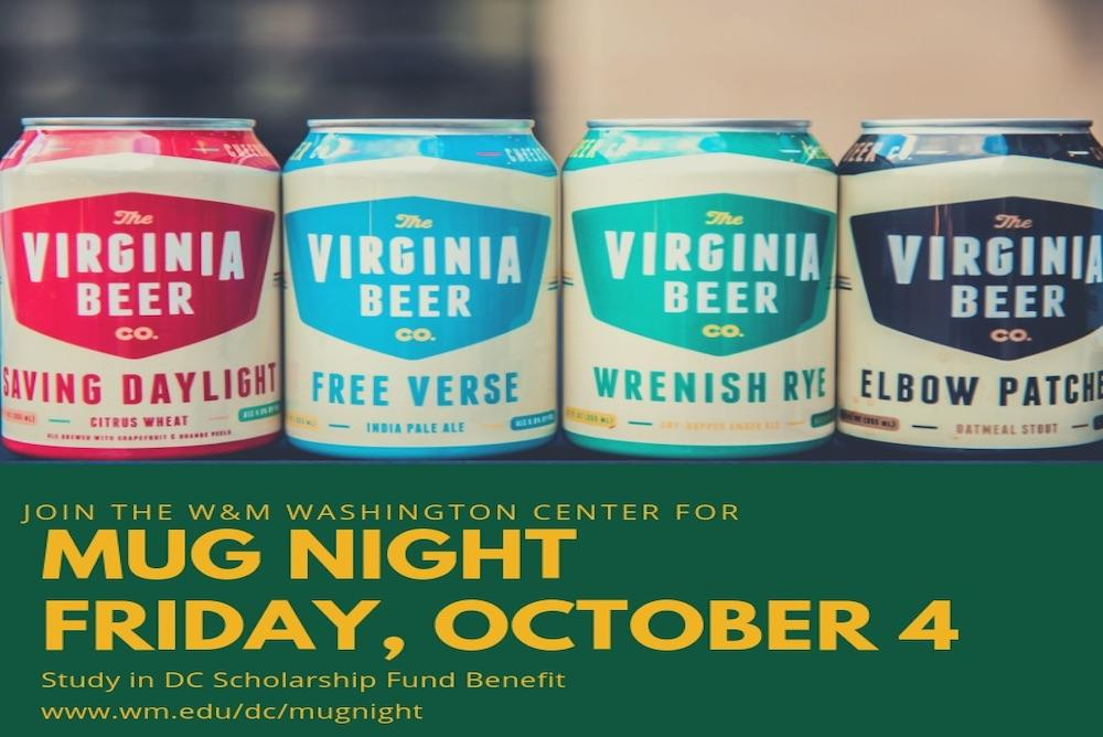 W&M DC Alumni Mug Night