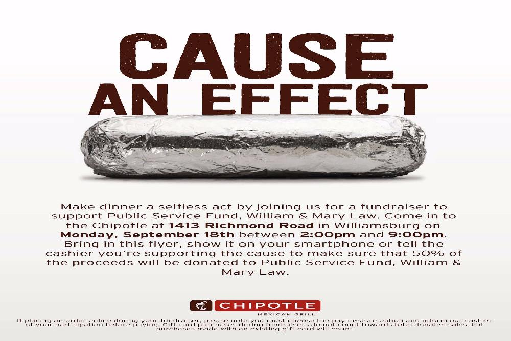 Don't forget to show them this flyer when purchasing your food!