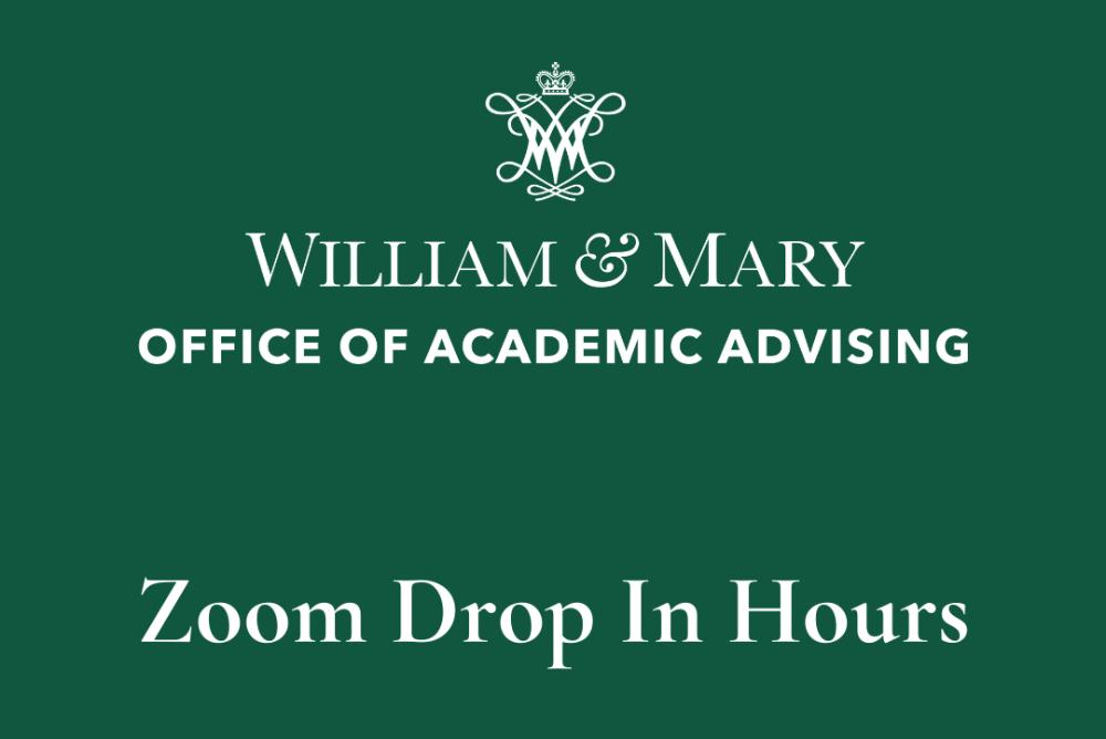 OAA Zoom Drop In Hours