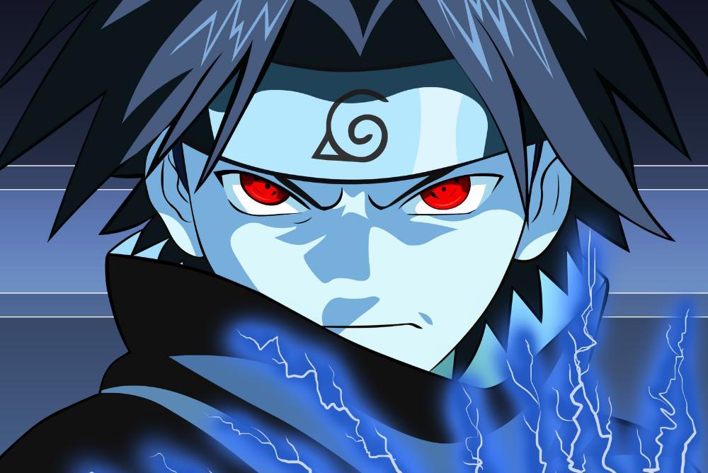Sasuke Uchiha, from Naruto