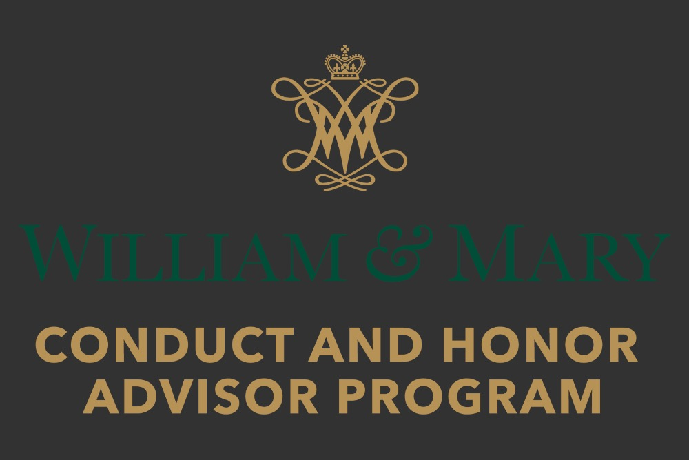Conduct and Honor Advisors Program Logo