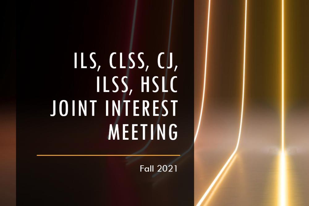 Joint Interest Meeting Presentation