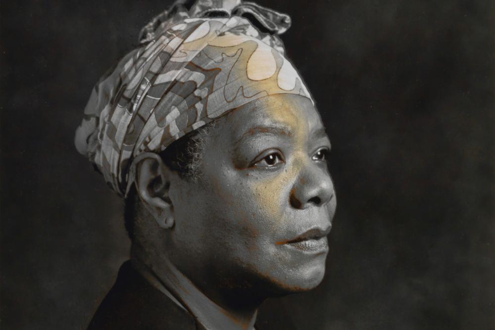 JEANNE MOUTOUSSAMY-ASHE | Maya Angelou (detail), 1993 | 2015.027