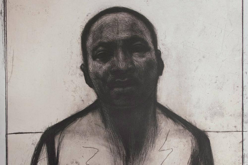 JOHN WILSON | Martin Luther King, Jr., (detail) 2002 | 2015.011
