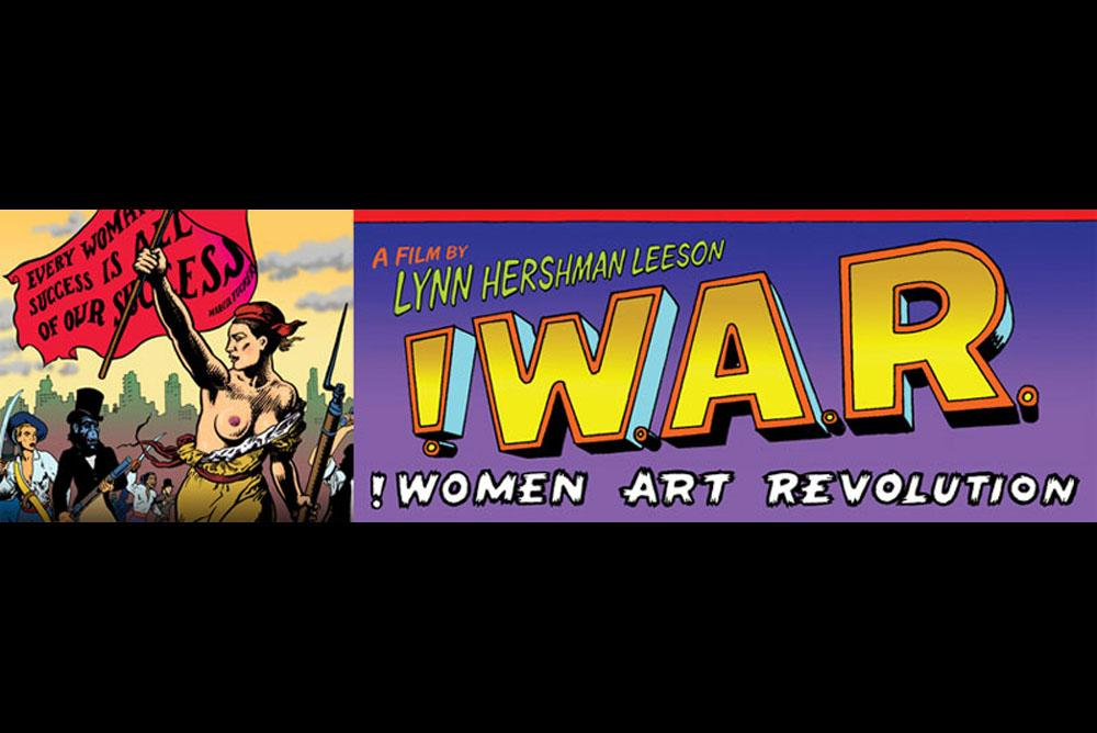 !Women Art Revolution Banner by Zeitgeist Films