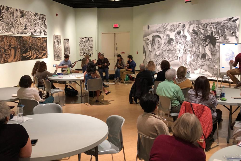 Meet the Artist Brown Bag Lunch February 8, 2019