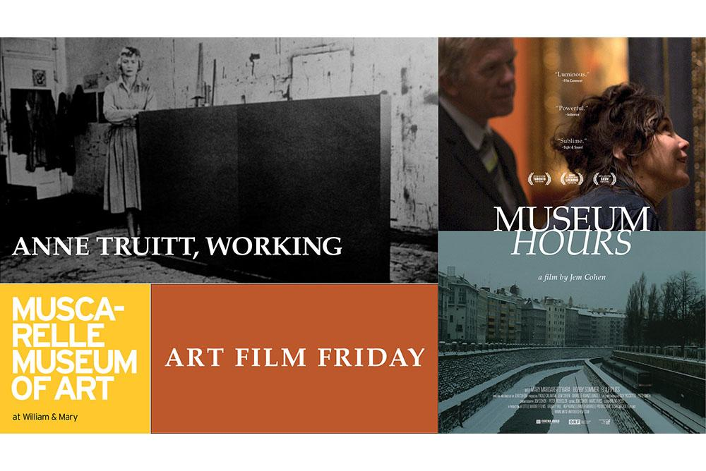 Art Film Friday: Anne Truitt, Working & Museum Hours