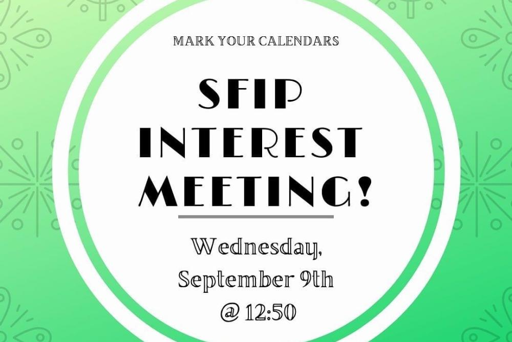 Interest Meeting Picture