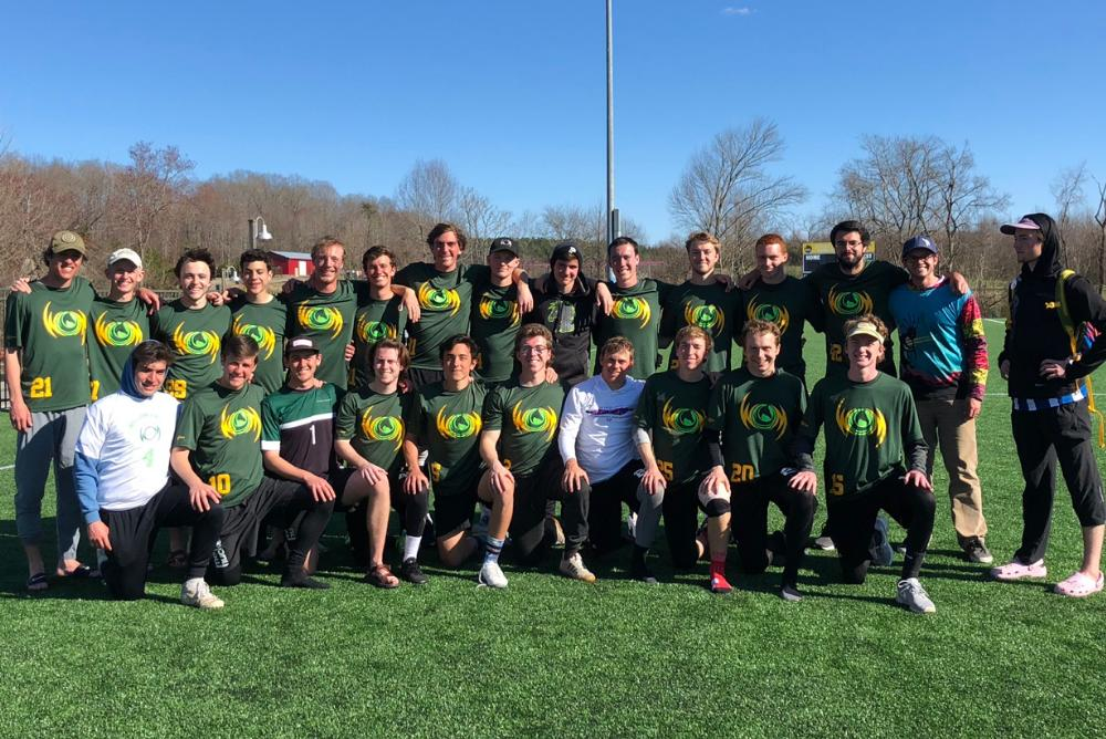 William & Mary Men's Ultimate Frisbee Team