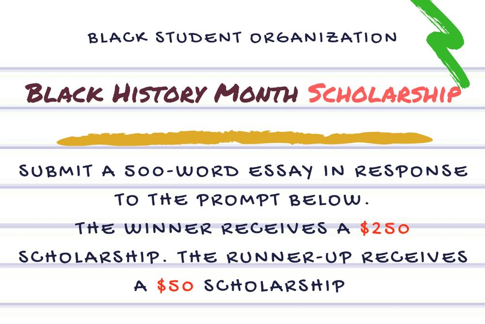 black history month scholarship contest