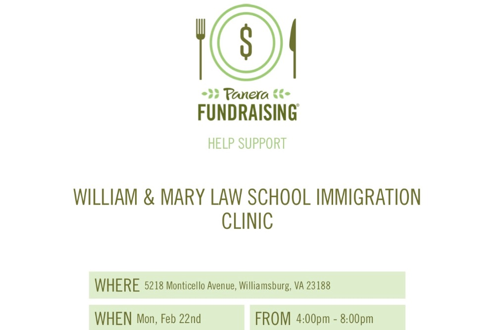 Flyer for Fundraiser