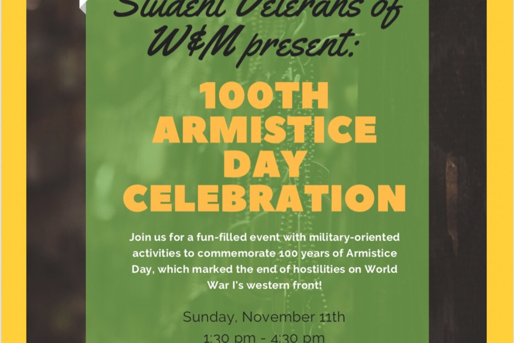 100th Armistice Day Celebration Event