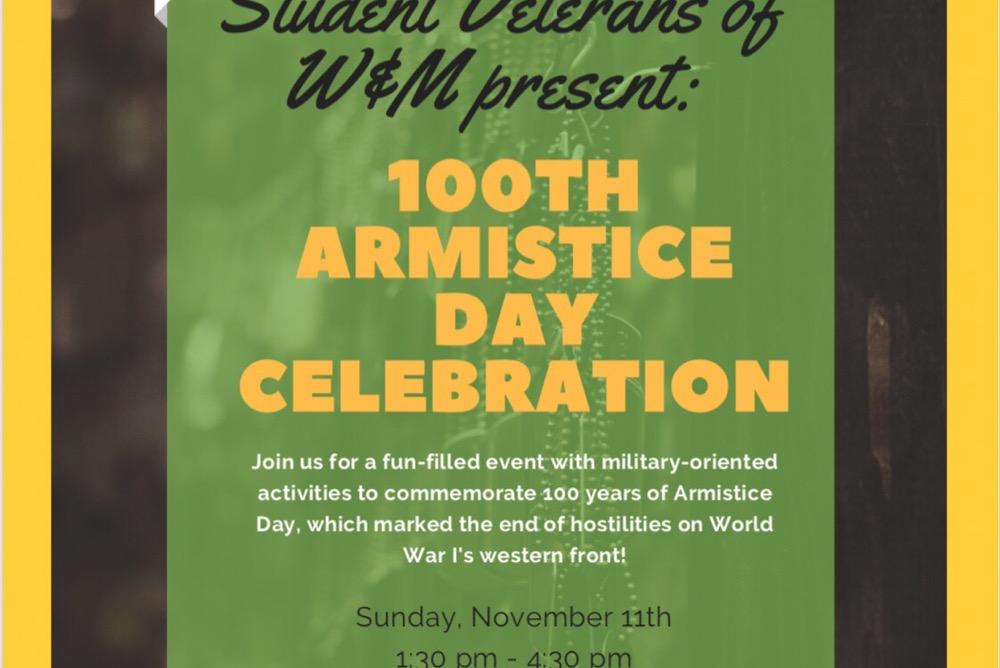 100th Armistice Day Celebration Event