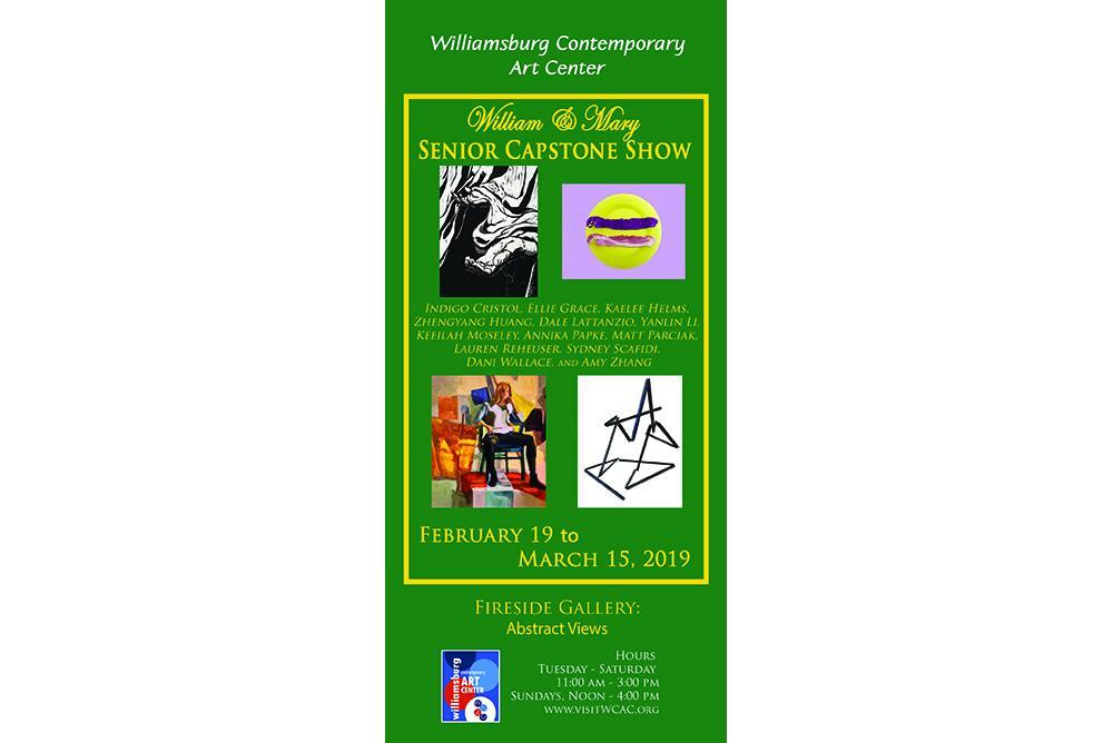 WCAC Senior Capstone Show 2019