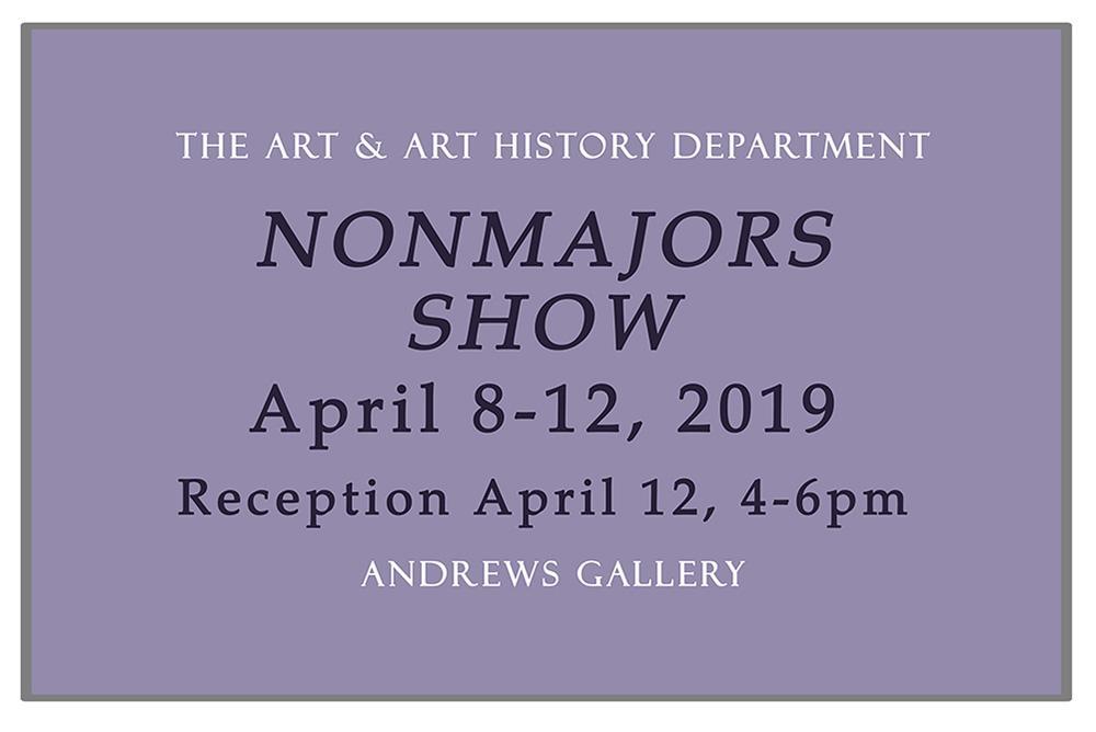 2019 Nonmajors Show