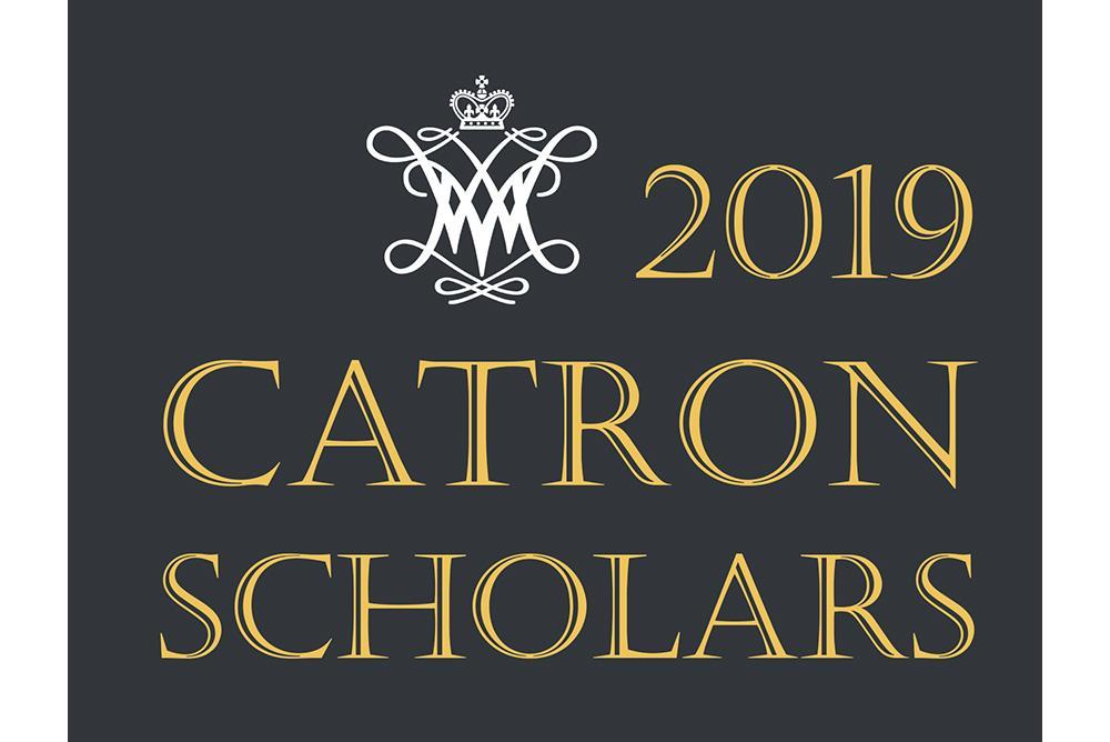 2019 Catron Scholars