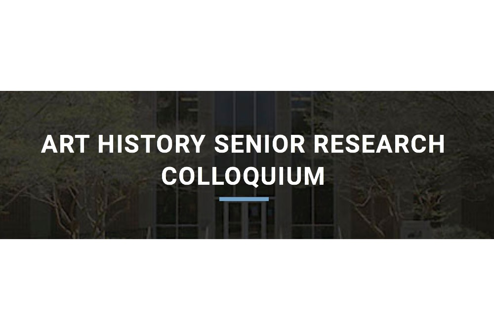 2020 Senior Research Colloquium