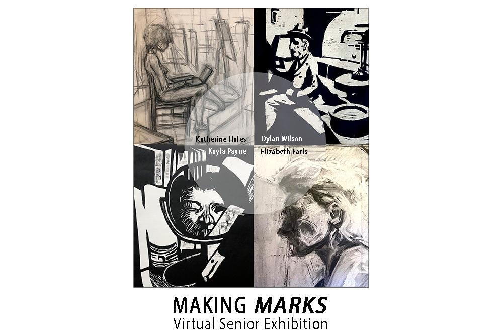 Virtual Fa2020 Senior Art Exhibition: Making Marks