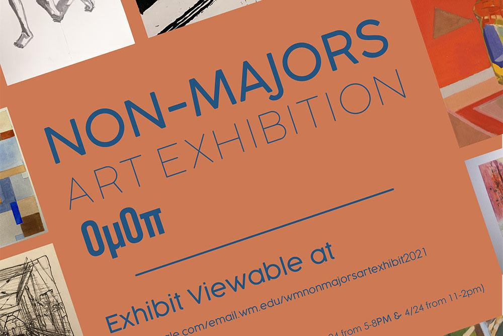 sp2021 Non Majors Art Exhibition