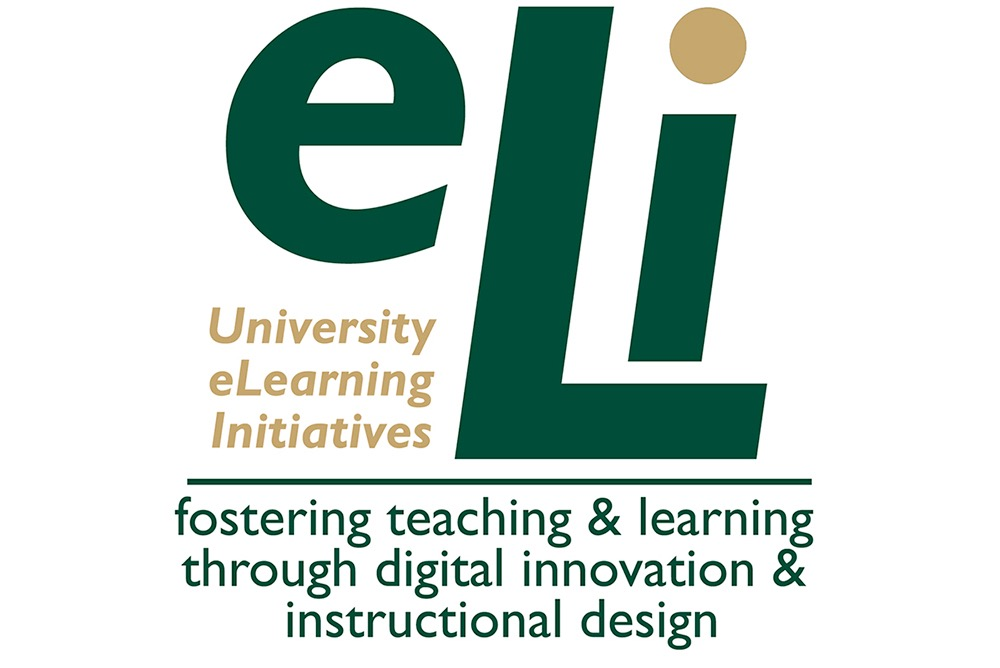 eLi Logo - Fostering teaching and learning through digital innovation and instructional design