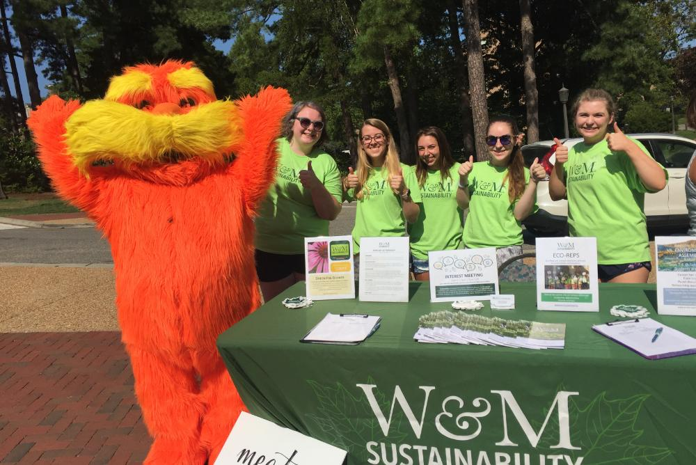 Come meet the Lorax while you visit the tablers!