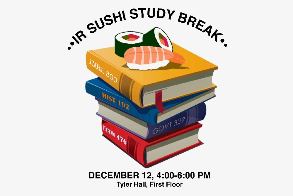 Books with Sushi