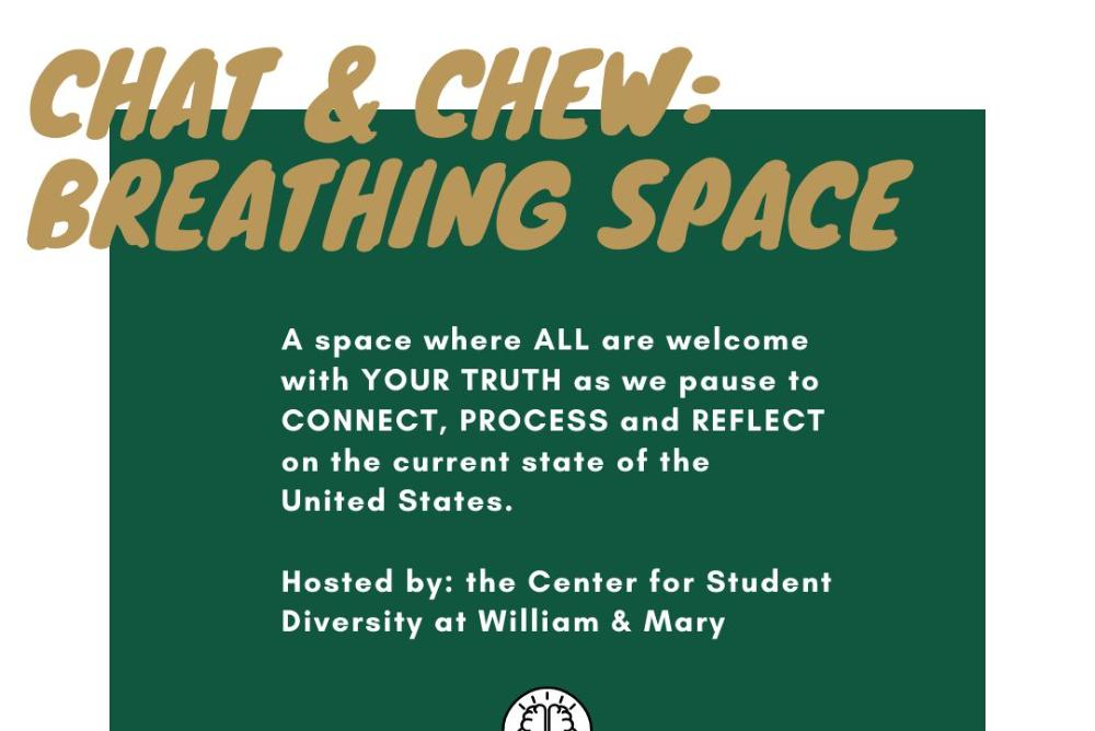 Chat and Chew: Breathing Space