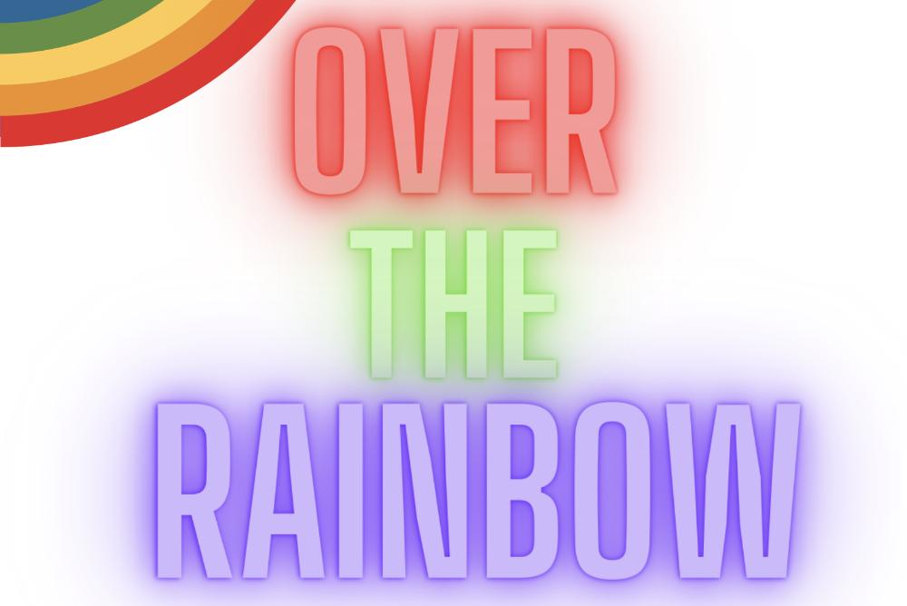 Over the Rainbow (text in multiple colors)