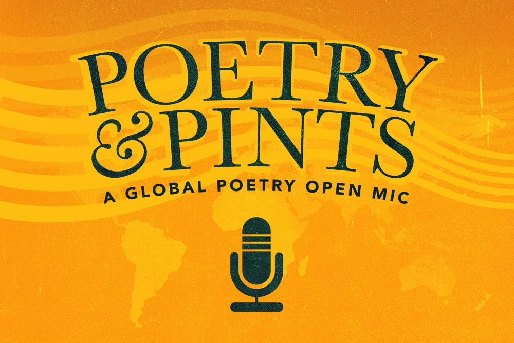 Poetry & Pints Poster
