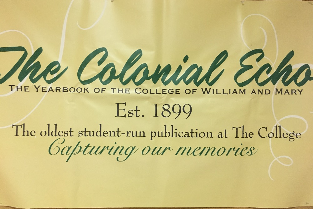 Colonial Echo yearbook logo
