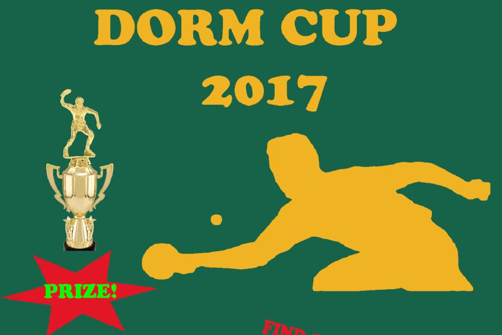 WM Table Tennis Dorm Cup 2017