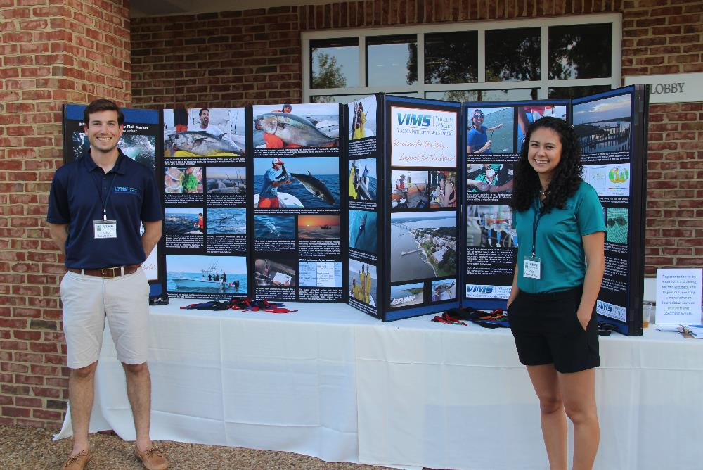 VIMS graduate students provide information on their research