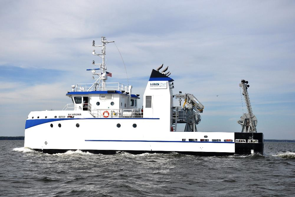 VIMS' flagship research vessel, the R/V Virginia